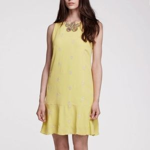 Anthropologie Leifnotes Ponderosa Drop Waist Dress